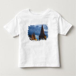 Opinião da noite do bastião do pescador, castelo camiseta