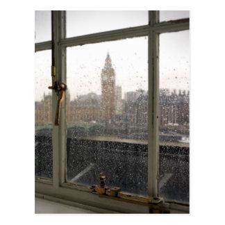 Opinião de dia chuvoso em Big Ben - o cartão de