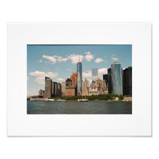 Opinião de Manhattan Impressão De Foto