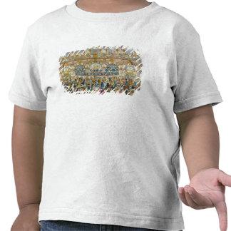 Opinião de perspectiva do salão de baile, camisetas