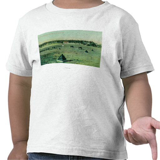 Opinião de terras de parada no Presidio Camiseta