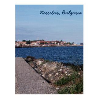 Opinião do cartão de Nessebar, Bulgária