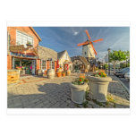 Opinião do moinho de vento de Solvang Cartão Postal