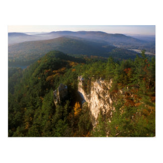 Opinião do púlpito dos diabos de montanha do cartão postal