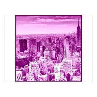Opinião superior da torre cartão postal