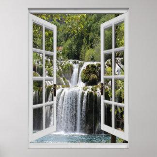 Opinião Trompe da cachoeira - l ' janela Poster