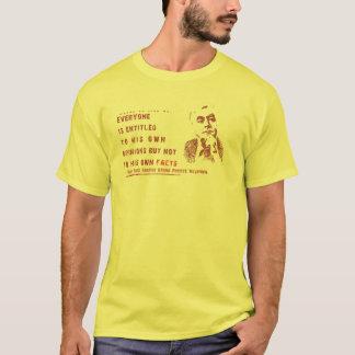 Opiniões e fatos - camisa de Moynihan