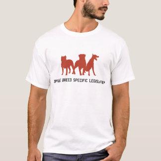 Opor a legislação do específico da raça camiseta
