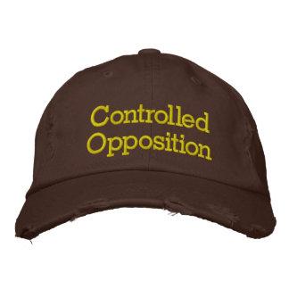 Oposição controlada bones bordados