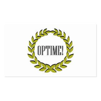 Optime! Trabalho excelente! Cartão De Visita