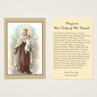 Oração a nossa senhora do cartão santamente de