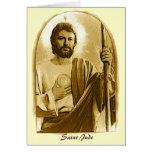 Oração cura a St. Jude Cartoes
