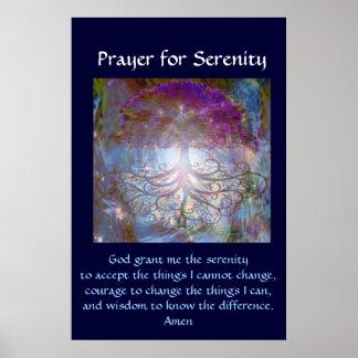 Oração da serenidade impressão