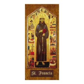 Oração de St Francis de Assisi 10.16 X 22.86cm Panfleto