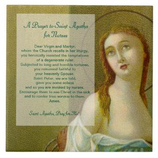 Oração do St. Agatha (M 003) para enfermeiras