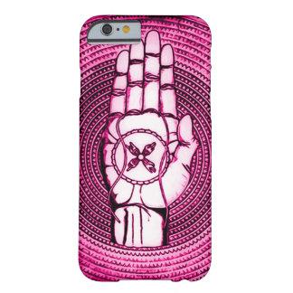 Oracle cor-de-rosa entrega a arte capa barely there para iPhone 6