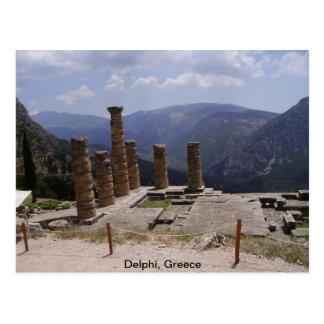 """""""Oracle de Delphi """" Cartão Postal"""
