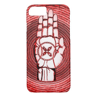 Oracle vermelho entrega a arte capa iPhone 7