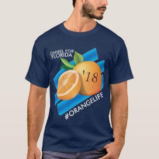 #OrangeLife/Daniel para o t-shirt de Florida Camiseta