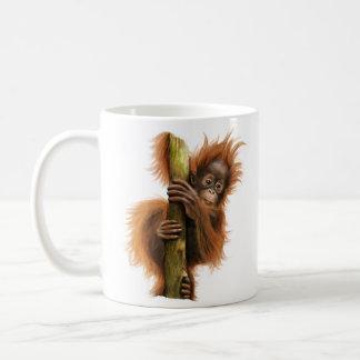 Orangotango caneca do clássico de 11 onças