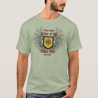 Ordem do clã Est.2005 do Rouse com camisa do credo