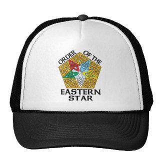Ordem do design celta do nó da estrela oriental bonés