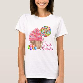 Ordem feita sob encomenda para cupcakes de camiseta