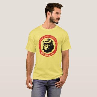 Ordem internacional para gorila camiseta