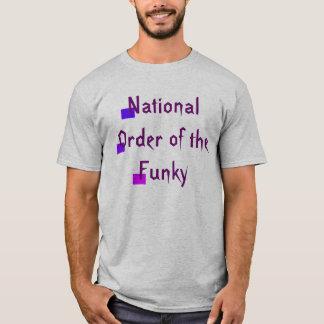 Ordem nacional do Tshirt Funky CricketDiane Camiseta