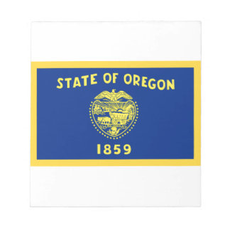OregonFlag Caderno De Anotação