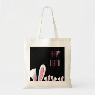 Orelhas cor-de-rosa em Blac, o bolsa do coelhinho