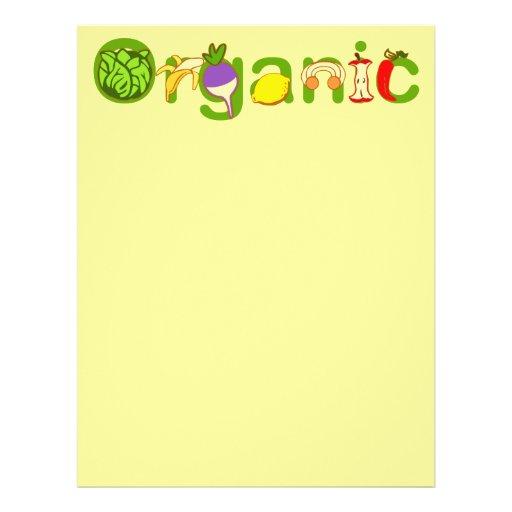 Orgânico Panfleto