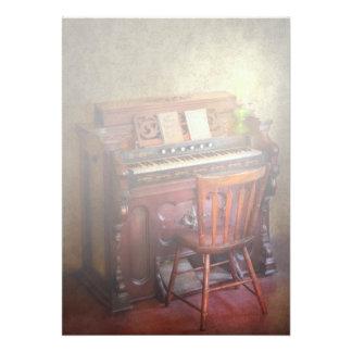Organista - jogando as canções do evangelho convite personalizados
