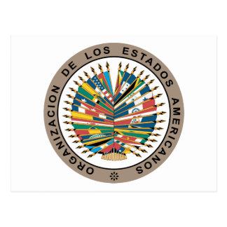 Organização dos Estados Americanos, espanhola Cartão Postal