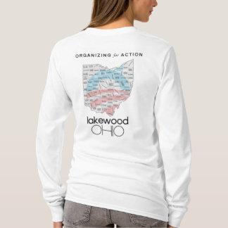 Organização para a camisa do LS das mulheres da
