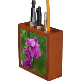 Organizador floral da mesa dos Wildflowers do rosa