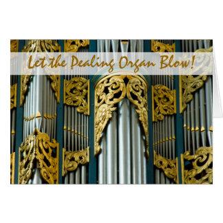 Órgão, Breda, cartão de Natal holandês