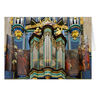 Órgão, Breda, cartão holandês