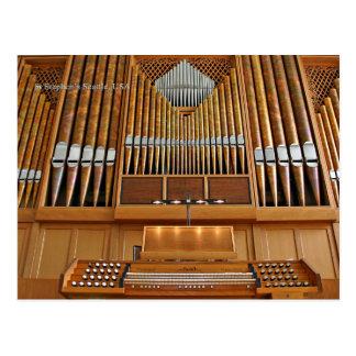 Órgão da igreja de St Stephen, Seattle, cartão
