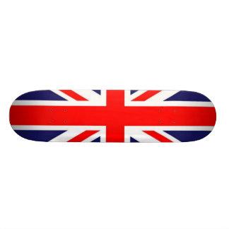 Orgulho britânico shape de skate 18,4cm