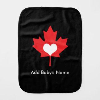 Orgulho canadense - folha de bordo de Canadá do Fraldinha De Boca