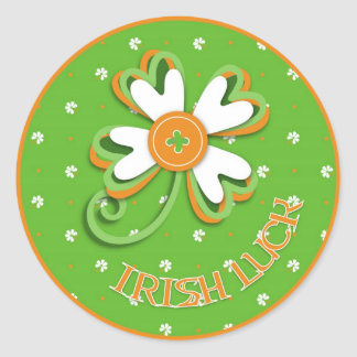 Orgulho da etiqueta de Ireland Adesivos Redondos