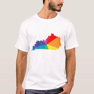 orgulho de kentucky. angular camiseta