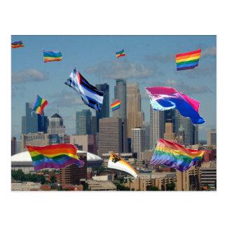 Orgulho de Minneapolis Cartão Postal