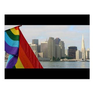 Orgulho de San Francisco Cartão Postal
