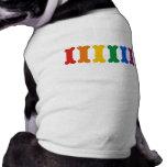 Orgulho do animal de estimação camisa para cães