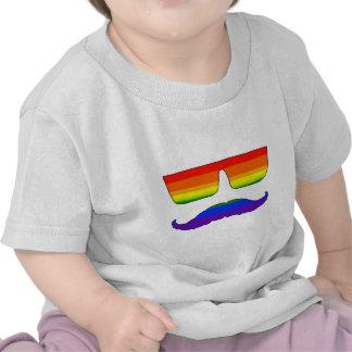 Orgulho do bigode t-shirts