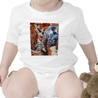 Orgulho do elefante camiseta