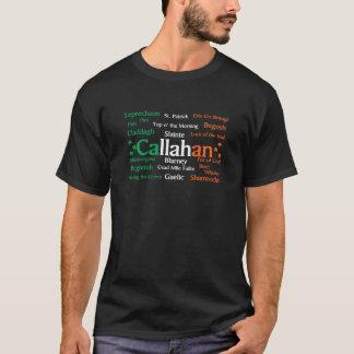 Orgulho do irlandês de Callahan Camiseta