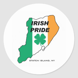 Orgulho do irlandês de Staten Island Adesivo